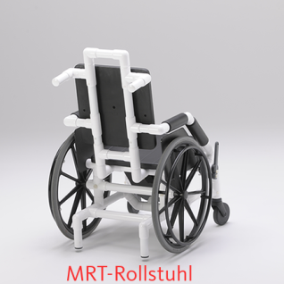 MRT Rollstuhl, Flughafen und Radiologie, Selbstfahrer, Profi-Stuhl - Vorschau 3