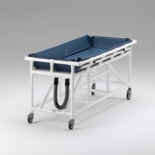 XL Duschwagen 200 kg Duschliege Transportliege - Vorschau 3