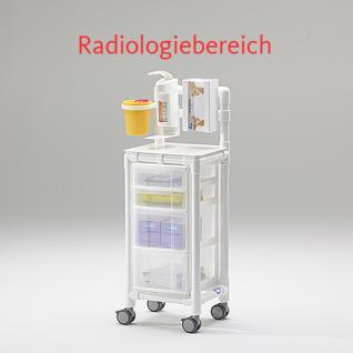 MRT Stationswagen Radiologie taugliche Möbel Hygienewagen RCN
