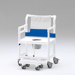 XXL 250 kg fahrbarer Toilettenstuhl Toilettensitzerhöhung Profi-Duschstuhl