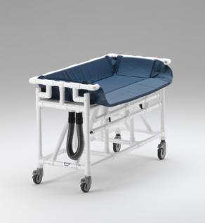 Kinder Duschwagen 160x75 hoher Wasserstand Duschliege Transportliege - Vorschau 2