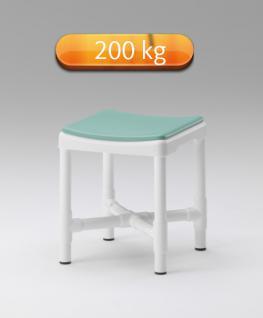 Sonderbau Sitzhöhe: Duschhocker 200 kg extra stabil