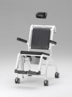 Elektrischer Duschtoilettenstuhl kippbar Parkinson Profi-Duschstuhl - Vorschau 4