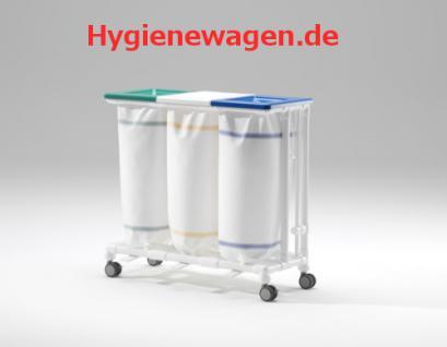 Jumbo Wäschesammler 1er mit Fusspedalöffner - Vorschau 4