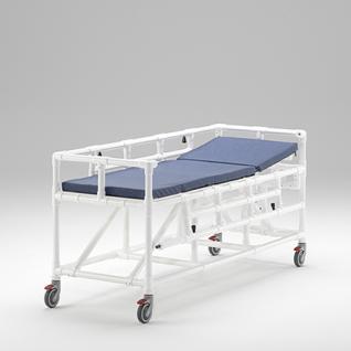 MRT Liege Radiologie taugliches Produkt absenkbare Seitenschutzlehnen - Vorschau 3