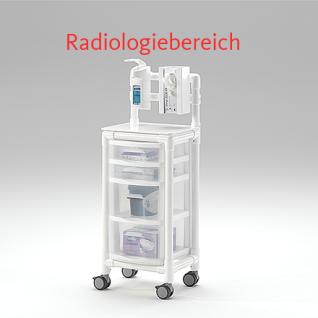 MRT Stationswagen Radiologie Pflegewagen platzsparend Hygiene RCN - Vorschau 4