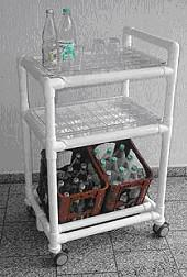 Getränkewagen Stationswagen zwei Getränkekisten RCN