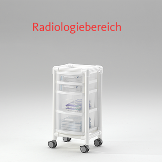 MRT Stationswagen Radiologie taugliche Möbel RCN