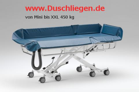 200 kg, ERSCHÜTTERUNGSARM, kippbar, hydraulisch, 5 J Garantie, Duschliege Duschwagen Transportliege - Vorschau 5