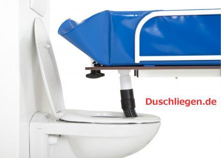 Hydraul. Duschwagen kippbar ERSCHÜTTERUNGSARM höhenverstellbare Duschliege - Vorschau 5