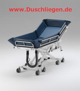 200 kg, ERSCHÜTTERUNGSARM, kippbar, hydraulisch, 5 J Garantie, Duschliege Duschwagen Transportliege - Vorschau 2