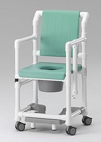 Angebot -der REISE-Profi: faltbarer Toilettenstuhl mit Rollen Profi-Duschstuhl - Vorschau 5