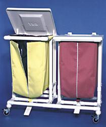 Jumbo Wäschesammler 1er mit Fusspedalöffner - Vorschau 2