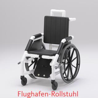 MRT Rollstuhl, Flughafen und Radiologie, Selbstfahrer, Profi-Stuhl - Vorschau 2