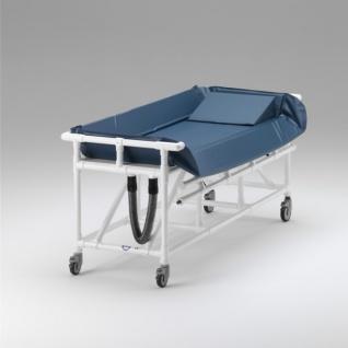 Duschwagen Rückenhöhe verstellbar Duschliege Transportliege - Vorschau 2