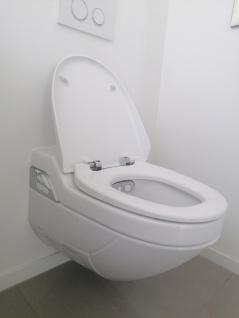 Toilettensitzerhöhung höhenverstellbar Nachtstuhl 150 kg - Vorschau 4