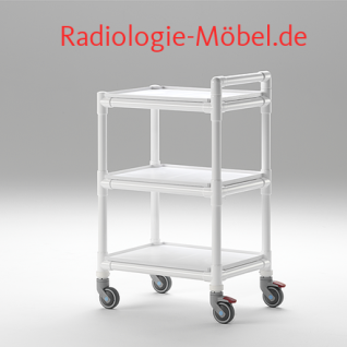 MRT Stationswagen Pflegewagen mit Waschschüssel Radiologie taugliche Möbel - Vorschau 3