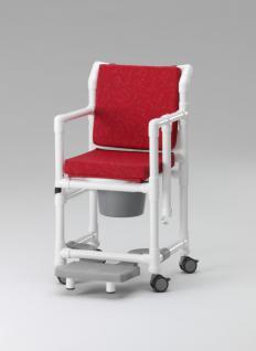 Komfort-Toilettenstuhl 150 kg Transportstuhl Toilettensitzerhöhung Zimmerstuhl Nachtstuhl Profi