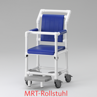 MRT Rollstuhl, Radiologie, Duschrollstuhl, Profi-Stuhl - Vorschau 1