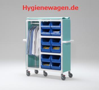 Stationswagen Wäschewagen Wäscheboxen RCN - Vorschau 1