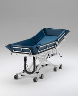 Duschwagen mit variablem Rückenteil, tiefer Einstieg, hydraulische Duschliege - Vorschau 2