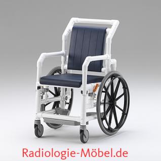 MRT Rollstuhl, Radiologie, Selbstfahrer, Duschrollstuhl, Profi-Stuhl - Vorschau 2