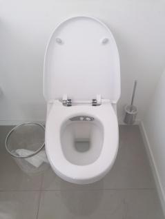 Toilettensitzerhöhung höhenverstellbar Nachtstuhl 150 kg - Vorschau 5