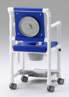 Demenzstuhl mit körperwarmer Polsterung Toilettenstuhl Toilettensitzerhöhung Profi-Duschstuhl - Vorschau 5