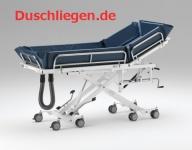 Bis 31. Dez.: Duschwagen mit variablem Rückenteil, tiefer Einstieg, hydraulische Duschliege