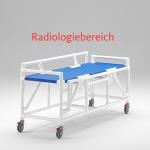 MRT Liege Radiologie taugliches Produkt absenkbaren Seitenschutzlehnen