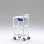 Stationswagen Pflegewagen mit Waschschüssel