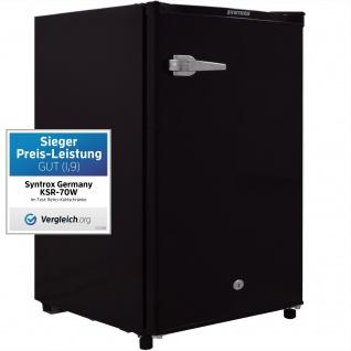 126 Liter A+ Retro Hotelkühlschrank Minibar Minikühlschrank