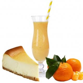 Käsekuchen Mandarine Geschmack Smoothie Slush Ice Granita 1:8
