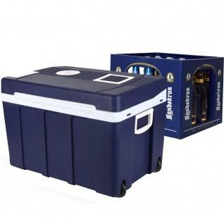 50 Liter Mini Kühlschrank & Warmhaltebox 12V + 220V Kühlbox Bierkasten kühlen