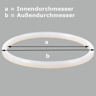 Ringdichtung V für Softeismaschine-Profi a= 94mm b= 105mm