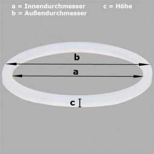 Ringdichtung O1 für Softeismaschine-Profi a= 85mm b= 100mm c= 9mm