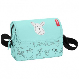 reisenthel everydaybag Umhängetasche Kindertasche - 2, 5 L cats and dogs Mint - Mint