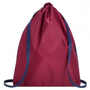 reisenthel mini maxi sacpac dark ruby 15 L Turnbeutel Rucksack - Ruby 4