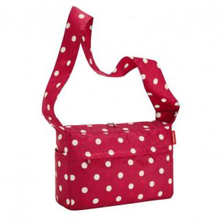 reisenthel mini maxi citybag Umhängetasche ruby dots - Rot Punkte Polyester 9 L - Ruby Dots