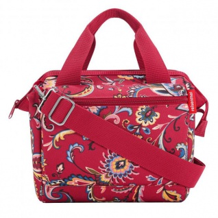 reisenthel allrounder cross paisley ruby 4 L - crossbodybag rot floral - paisley rot