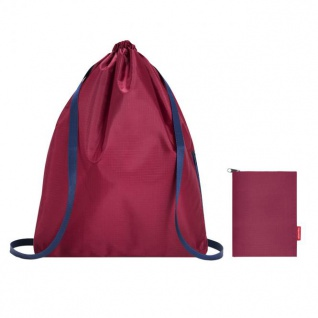 reisenthel mini maxi sacpac dark ruby 15 L Turnbeutel Rucksack - Ruby 1