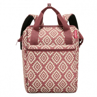 reisenthel Rucksack allrounder 12 Liter - diamonds rouge