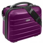 "Beauty Case "" London"" 12 L - Kosmetikkoffer Schminkkoffer Business Koffer Lila - Lila"