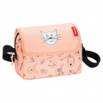 reisenthel everydaybag Umhängetasche Kindertasche - 2, 5 L cats and dogs Rosa