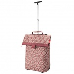 reisenthel trolley M diamonds rouge Reisetrolley Einkaufstasche Tasche 43 L