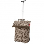 reisenthel trolley M diamonds mocha Reisetrolley Einkaufstasche 43 Liter