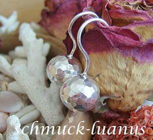 Kugel Ohrringe Silber - Vorschau 2
