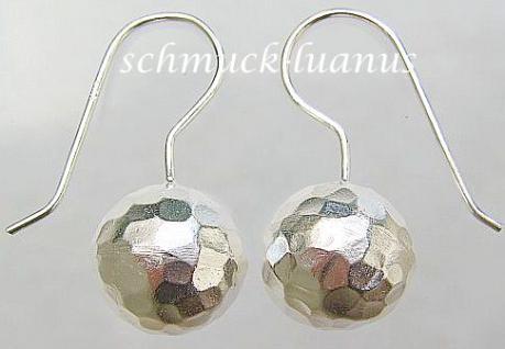 Kugel Ohrringe Silber - Vorschau 1