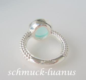 Aqua Chalcedon Ring Silber - Vorschau 3