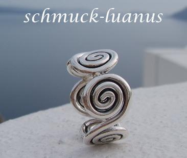 Silberring Spirale - Vorschau 2